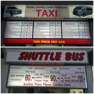 Taxi or Bus?? depending on ur wallet :)