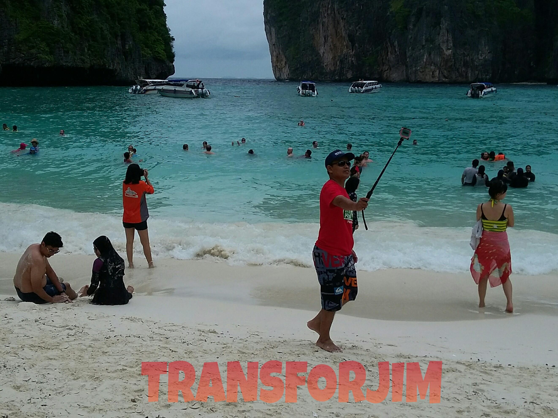 Gini Loh Sensasi Sehari Keliling Phi Phi Island TRANSFORJIM