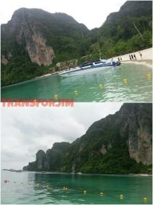 Sekitar Dermaga Phi Phi Don