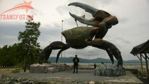 Sempat Mejeng di Crab Tammalang Statue