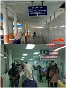 Koridor Menuju Imigrasi Pelabuhan