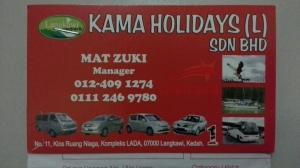 Boleh ditelpon/sms kalo minat mau sewa kendaraan di Langkawi