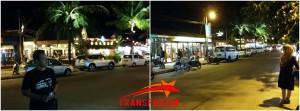 Jalanan Pantai Cenang , Cakeppp (*Modelnya)