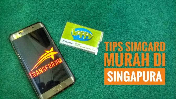 Bocoran Tips Simcard Murah Buat Liburan di Singapura